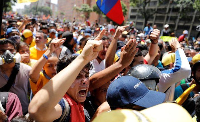 Duele lo que pasa en Venezuela…